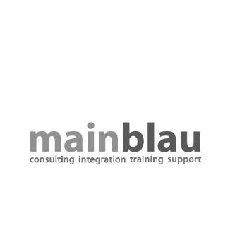 logo mainblau